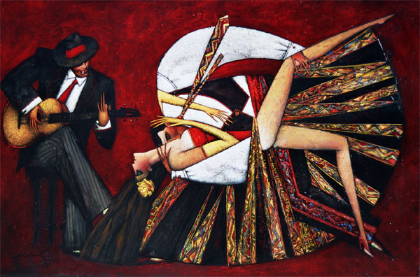 Ukrainian artist named Andre Protsouk