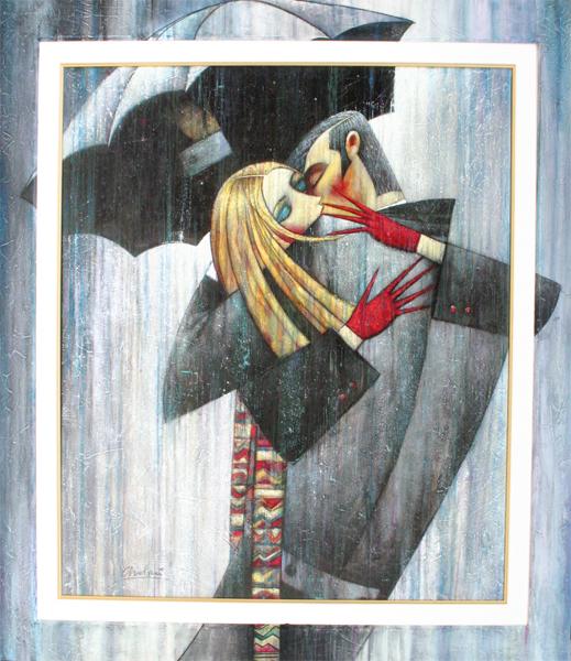 Ukrainian artist named Andre Protsouk russian cubist