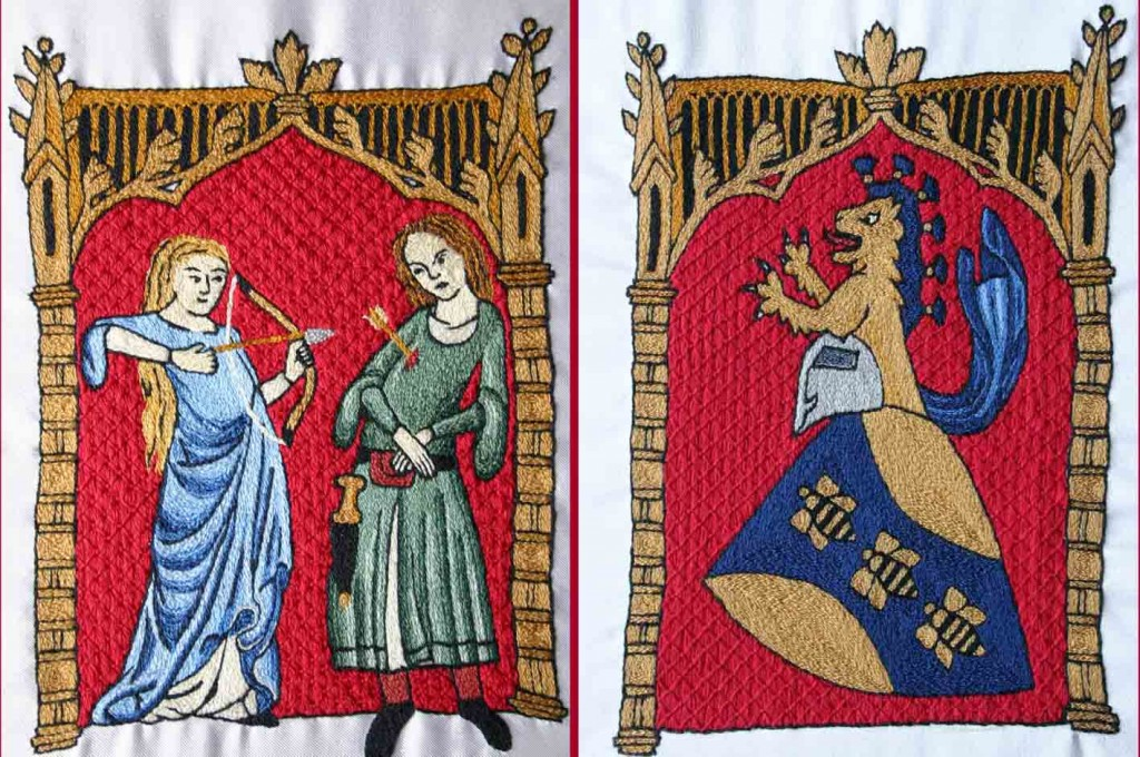 www.threegoldbees.com lovers purse