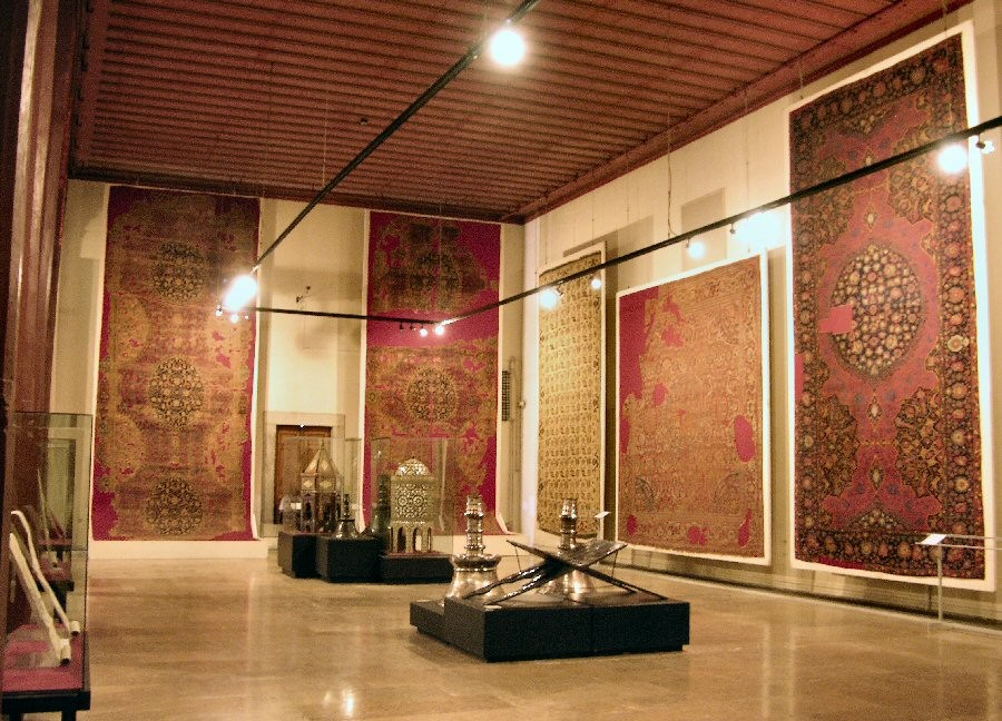 islamic textiles archeology museum antique carpets istanbul