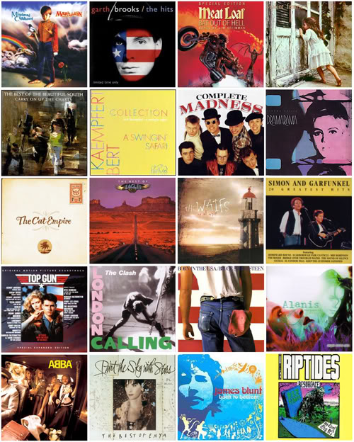 album montageS few favourite songs