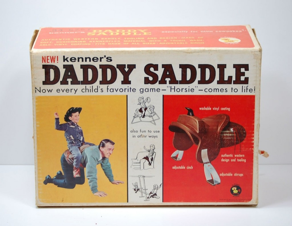daddy saddle for girls gift xmas