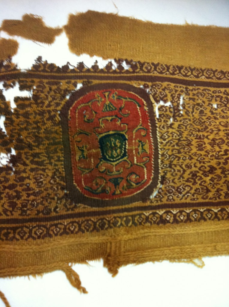 7th century 12th century embroidery woven piece