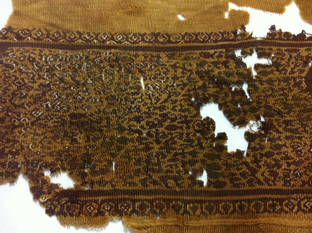 7th century to 12th century woven embroidery