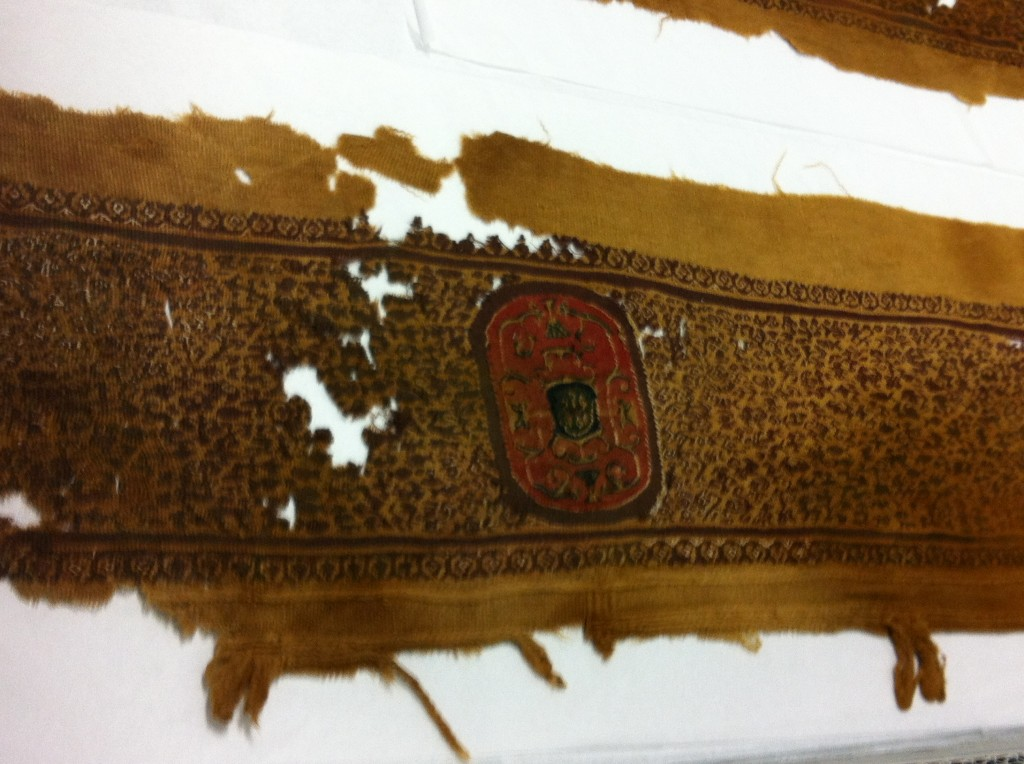 7th century 12th century woven embroidery
