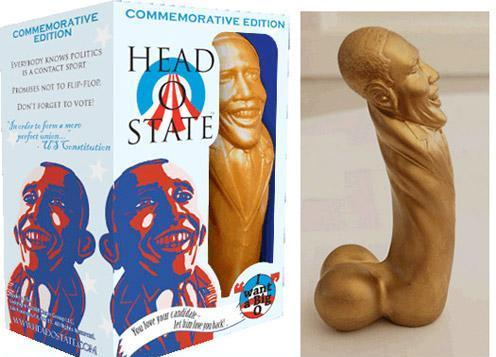 Head of State US president sex toy dildo