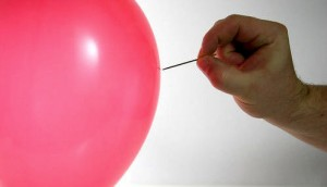 slow balloon bouncing room noise sound effect