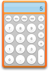 ugly orange calculator frame change