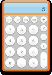 ugly orange calculator frame change