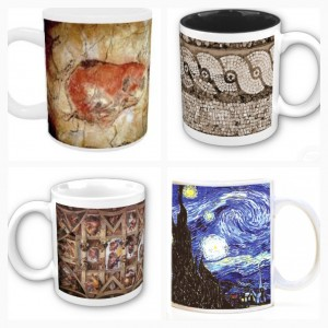 art history cave painting roman mosaic sistine chapel gogh starry night