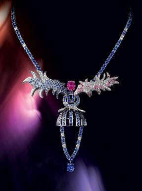 Boucheron colored sapphires unique