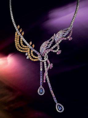 Boucheron coloured sapphire limited collection
