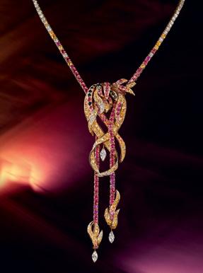 Boucheron switzerland coloured sapphires