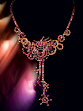Boucheron Paris coloured sapphires limited edition