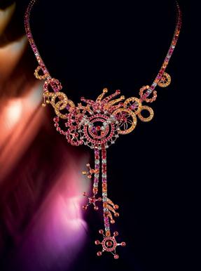 Boucheron Paris coloured sapphires limited edition