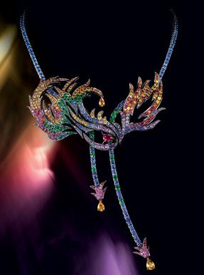 Boucheron Paris limited edition sapphire colored