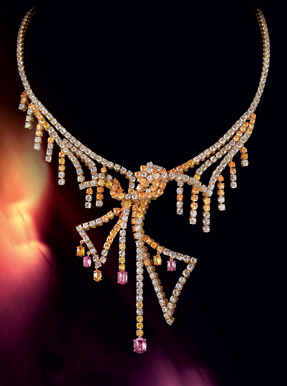 Boucheron Paris souvenir big top beautiful sapphires