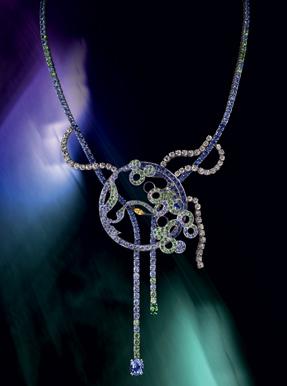 Boucheron Paris souvenir sapphire