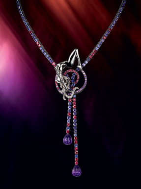 Boucheron Paris sapphires limited collectors souvenir