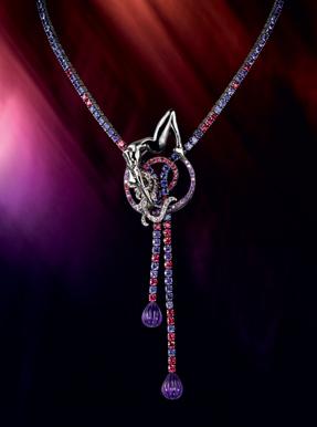 Boucheron Paris sapphires limited collectors souvenir