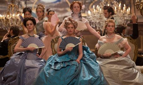 ladies court set design costumes