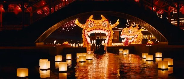shanghai boats lantern entrance