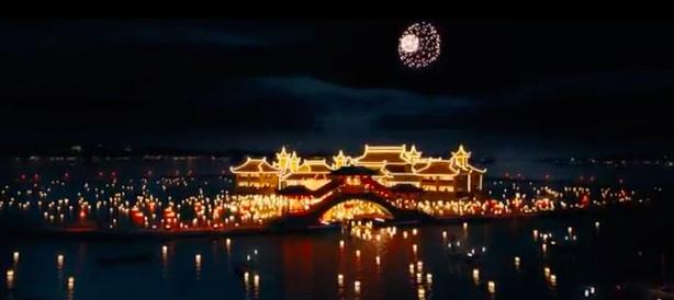 macau lanterns boat to casino daniel craig