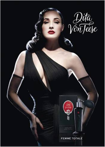 perfume launch celebrity perfume nude burlesque dancer