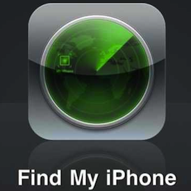 smartphone lost find my phone application