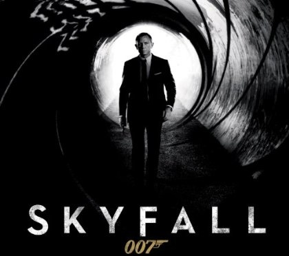 skyfall film poster daniel craig james bond