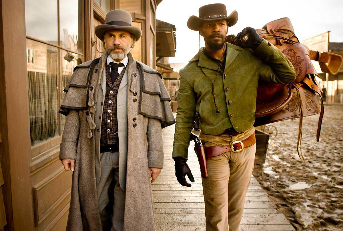 dr schultz costume design bounty hunters