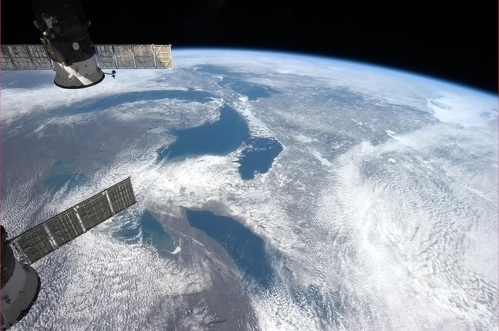 photos from the international space station