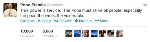 social media and the vatican