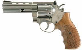 revolver blonde joke shoot head