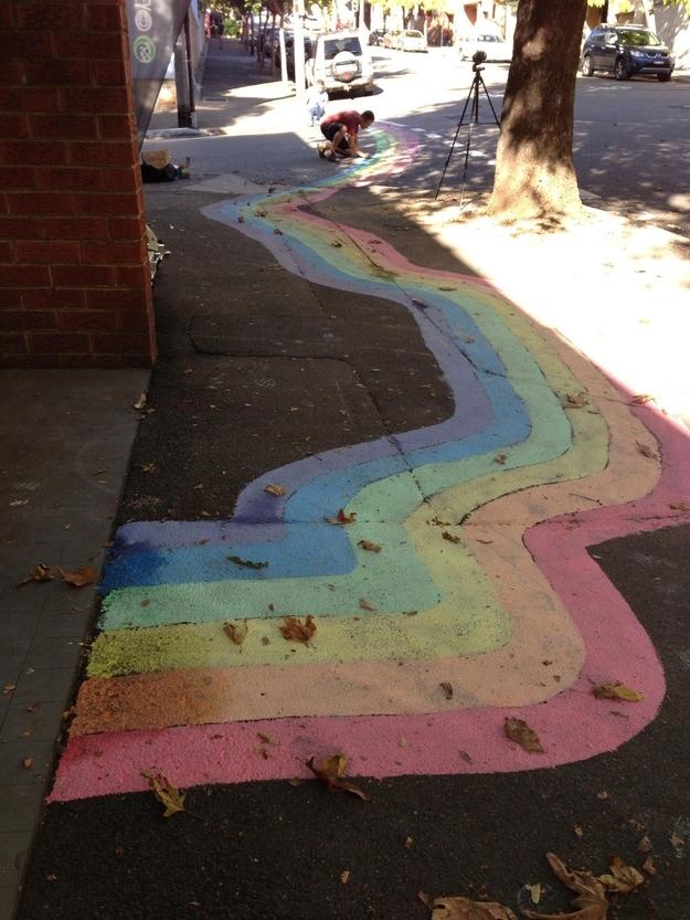 DIY rainbow 14