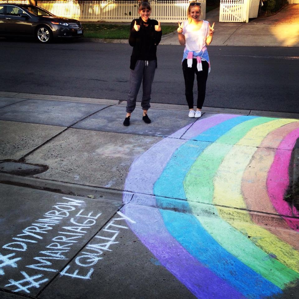 DIY rainbow 15