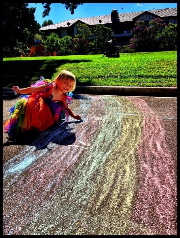 DIY rainbow9