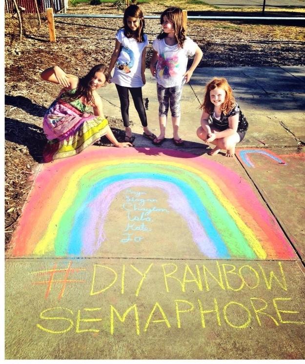 DIY rainbowsemaphore