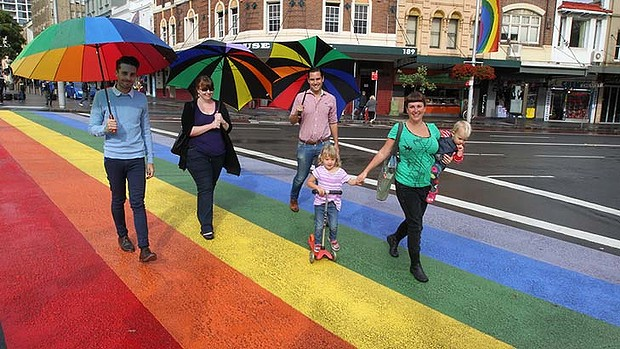sydney rainbow crossing destroyed