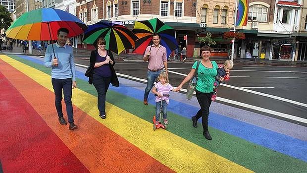 sydney rainbow crossing destroyed