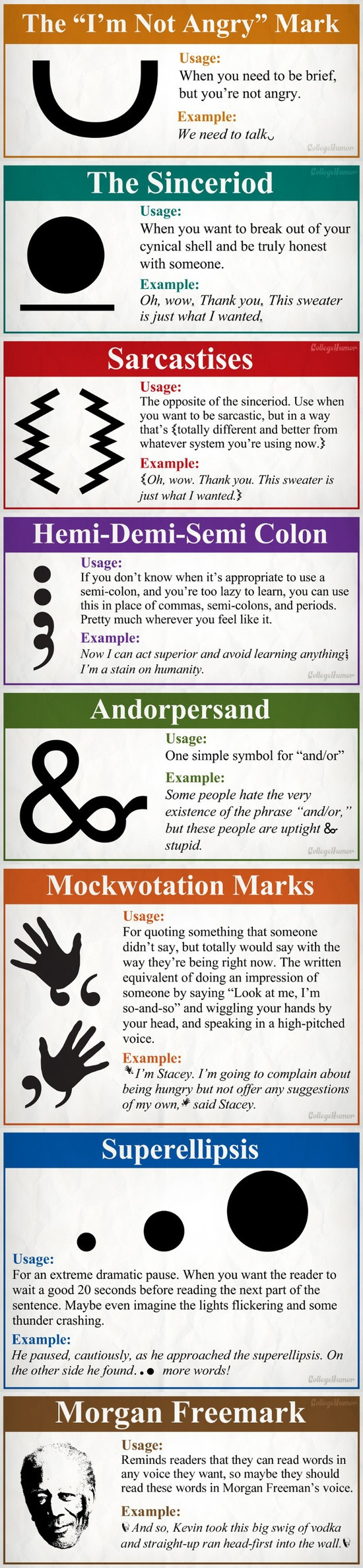 andorampersand sacrastices sinceriod  mockwotations