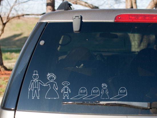 Familly 19th-Century-Family-Car-Stickers