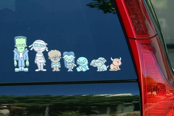 family monsterstickers