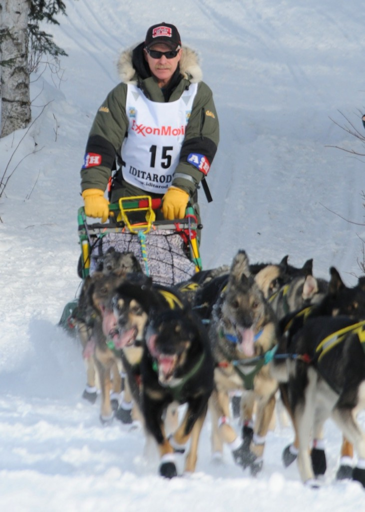 Iditarod 2010 Willow Restart 15
