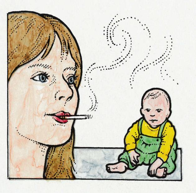 smoking-near-baby
