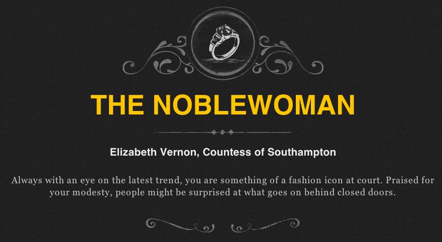 elizabethan noblewoman elizabeth vernon