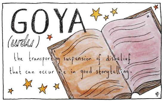 untranslatable words goya