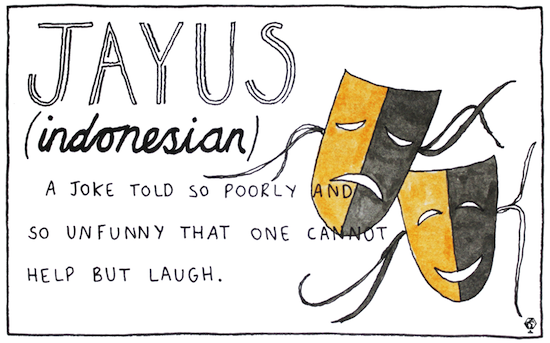 untranslatable words jayus