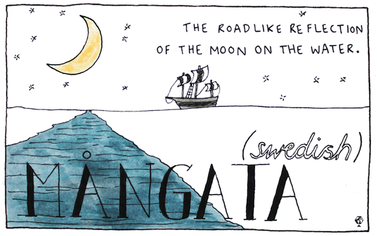 untranslatable words mangata