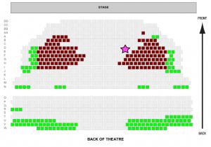 lyric theatre brisbane seating plan stalls